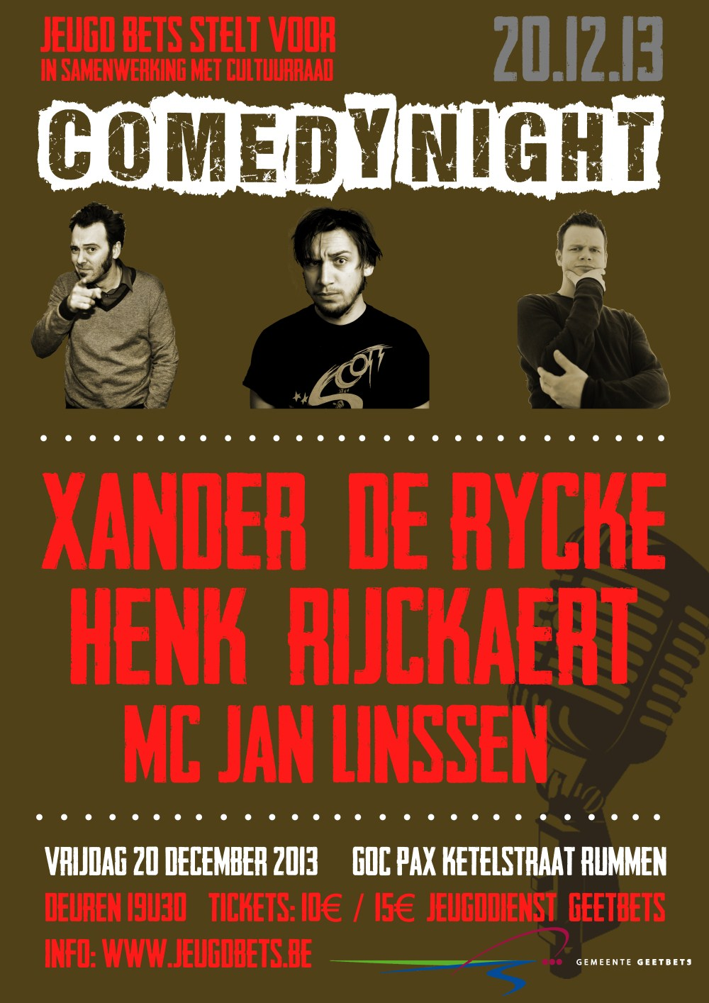 20 December | Comedynight